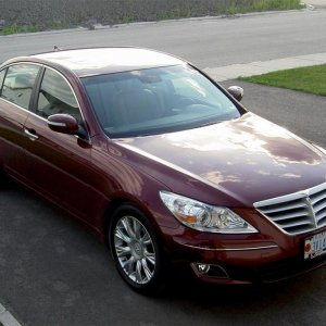 10 July 2009   2009 Hyundai Genesis 4dr. sedan V6  2